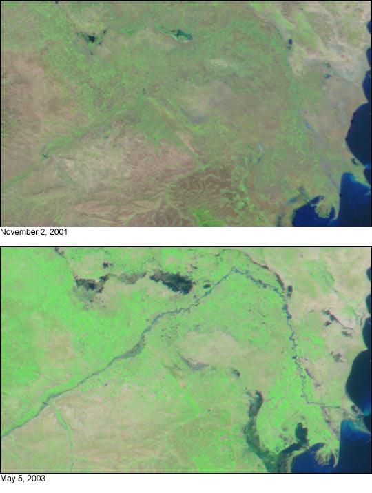 Flooding in Azerbaijan