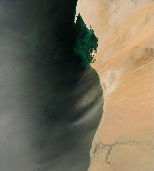 Saharan Dust off West Africa