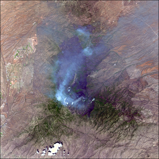 Fires in Arizona and New Mexico