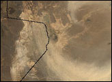 Dust Storm over Afghanistan and Pakistan