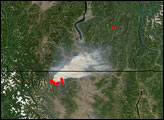 Fawn Peak Complex Fire in Washington