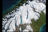 Blizzard in New Zealand