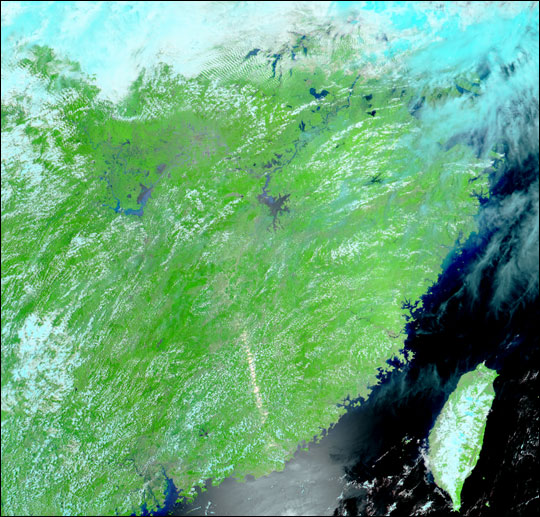 Flooding in Eastern China