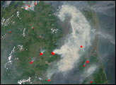 Forest Fires in Eastern Russia