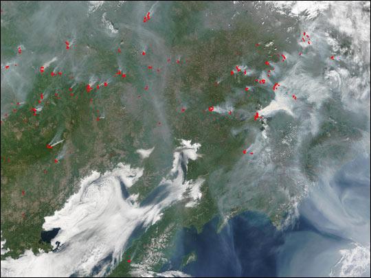 Fires in Siberia