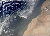 Saharan Dust over the Canary Islands