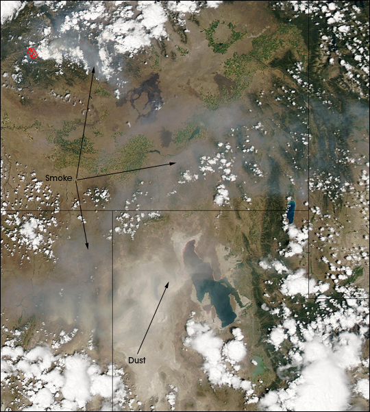 Dust Storm over Utah