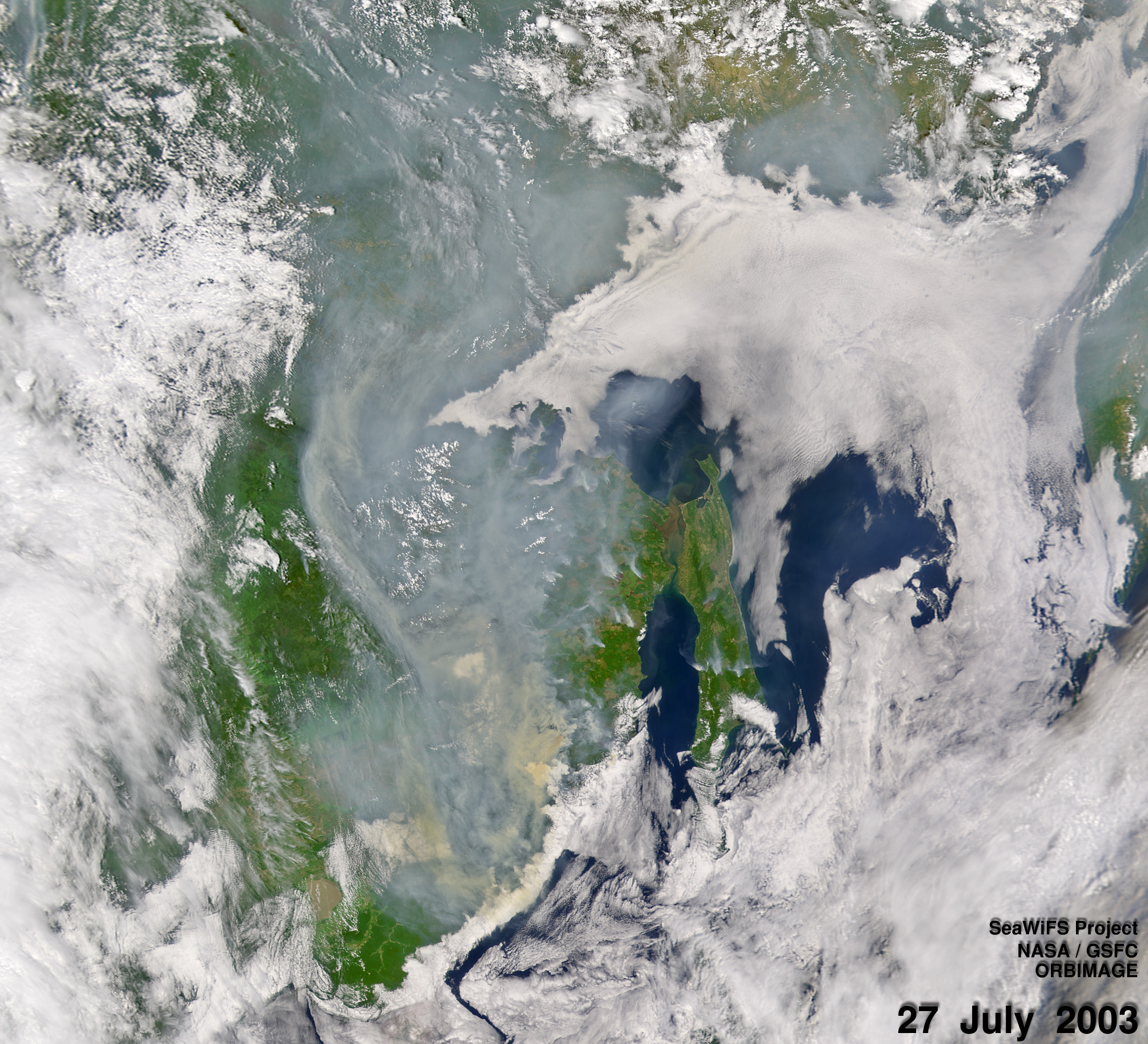 Smoke over Eastern Russia - related image preview