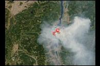 Fires in Western Canada