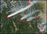 Fires in the Northern Rockies
