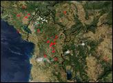 Fires in the Balkans