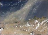 Mediterranean Dust Storm