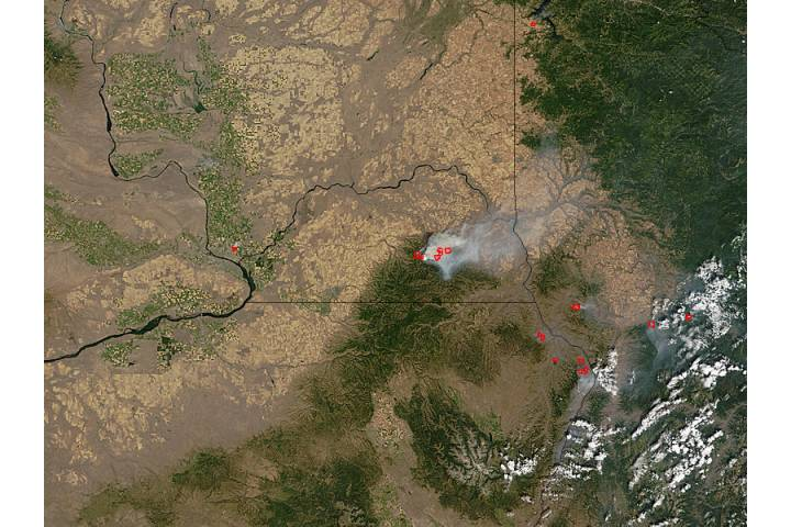 School Fire in Washington - selected image