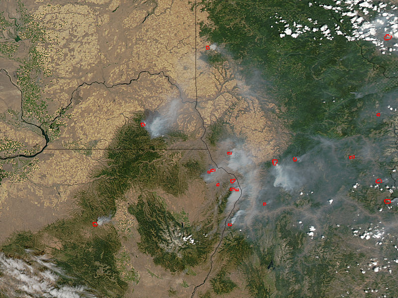 Fires in northwestern United States - related image preview