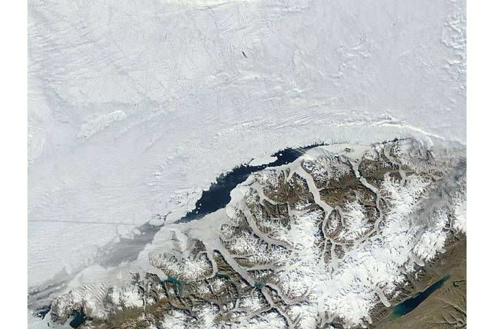 Ayles Ice Shelf after collapse, Ellesmere Island, Canada - selected image