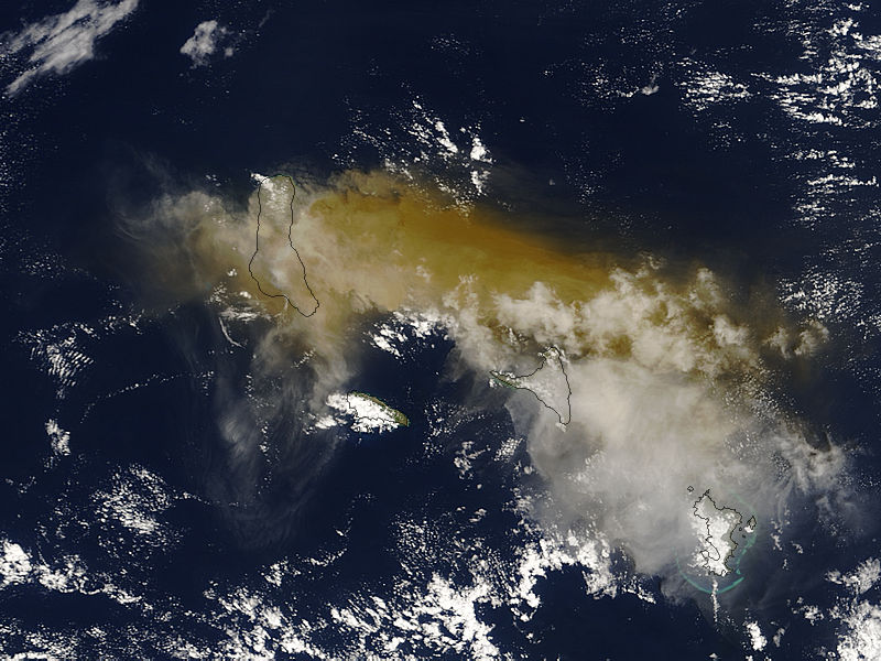 Eruption of Karthala Volcano, Grand Comore Island, eastern Indian Ocean - related image preview