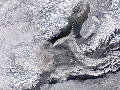 Eruption of Augustine Volcano, Alaska - related image preview