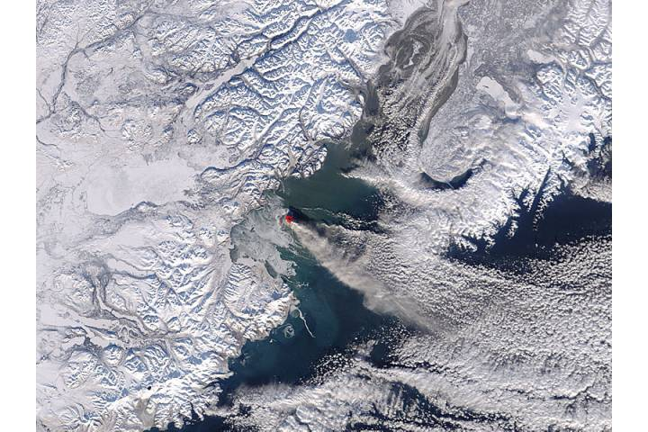 Eruption of Augustine Volcano, Alaska - selected image