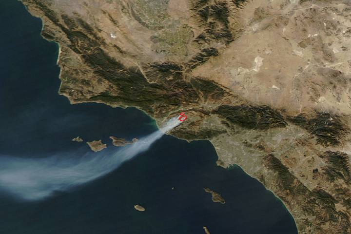 The Shekell Fire in California - selected image