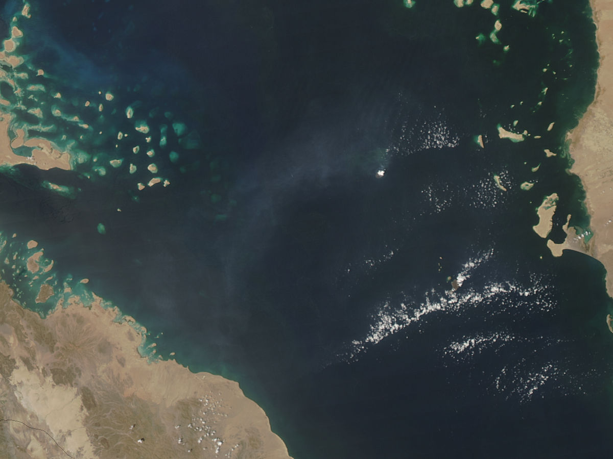 Jebel at Tair Volcano, Red Sea - related image preview