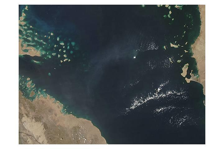 Jebel at Tair Volcano, Red Sea - selected image