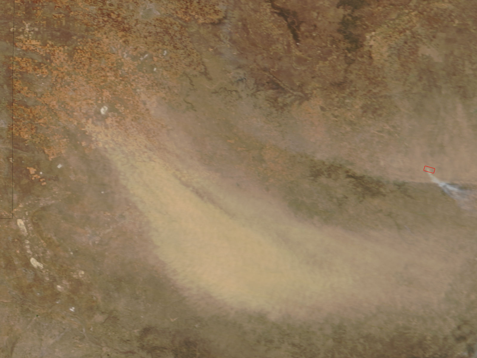 Dust storm in northern Texas - related image preview