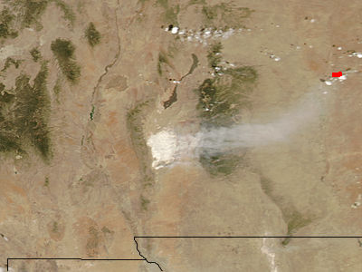 Dust storm, White Sands, New Mexico - related image preview