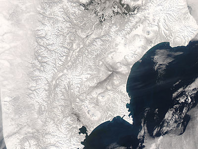Ash from Karymsky volcano, eastern Russia - related image preview