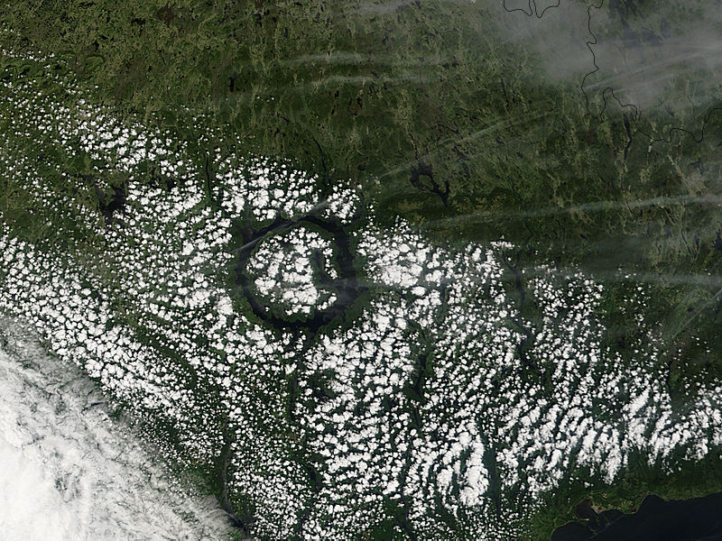 Clouds around Manicouagan Reservoir, Quebec - related image preview