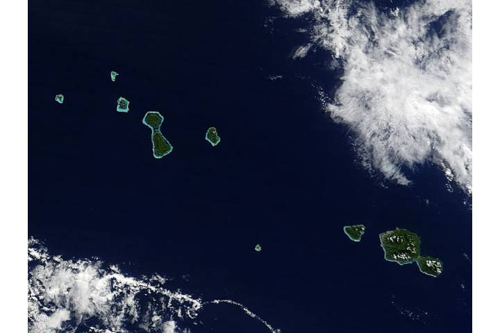 Society Islands, Pacific Ocean - selected image