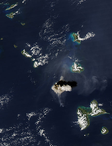 Ash Plume from the dome collapse at Soufriere Hills, Montserrat - related image preview