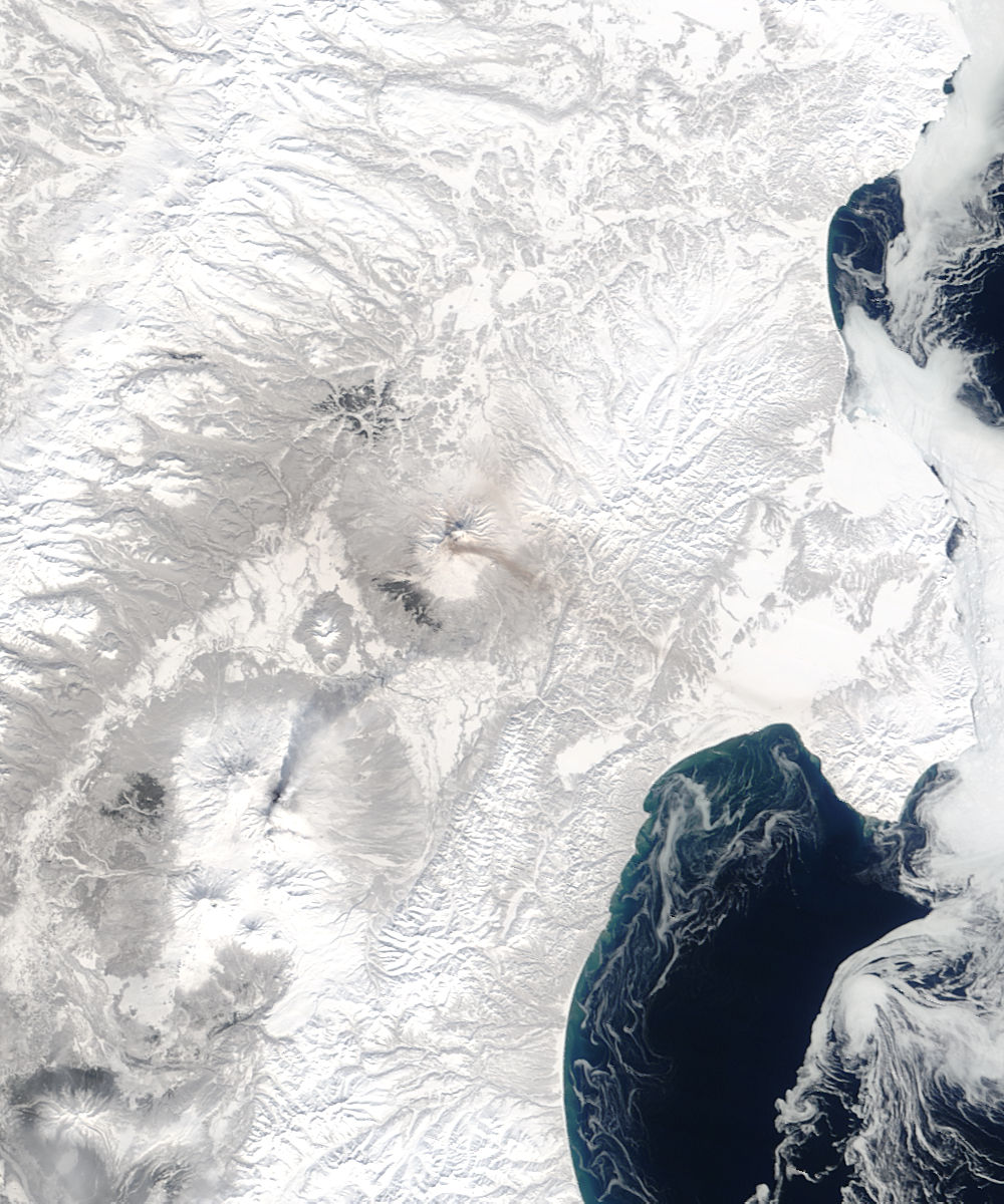 Volcanoes in central Kamchatka Peninsula, eastern Russia - related image preview