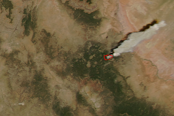 Wildfire in northern Arizona - related image preview