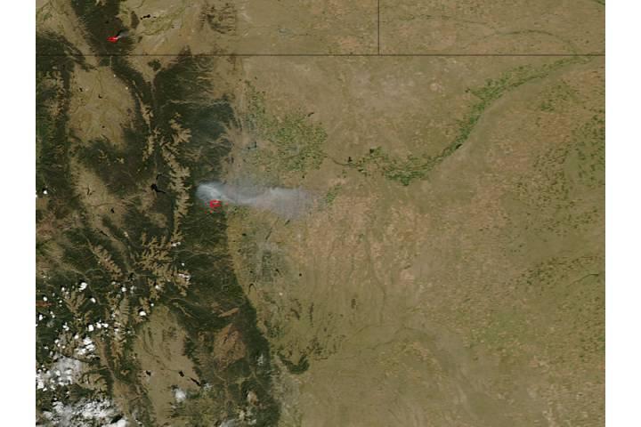 Four Mile Canyon Fire near Boulder, Colorado - selected image