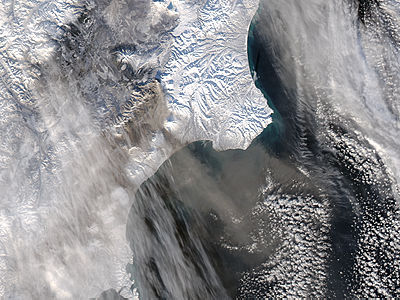 Ash plume from Kizimen, Kamchatka Peninsula, eastern Russia - related image preview