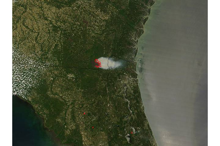 Honey Prairie Fire, Georgia - selected image