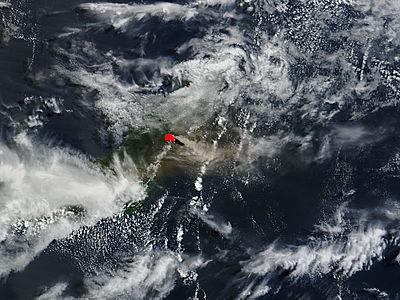 Eruption of Soputan volcano, Sulawesi Island, Indonesia - related image preview
