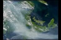 Smoke over the Maritimes