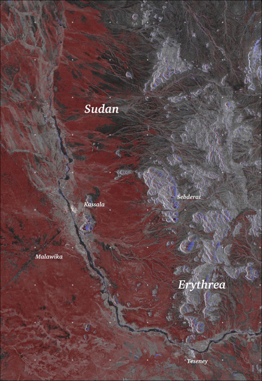 Flooding along the River Gash in Sudan - related image preview