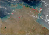 Fires in Northern Australia