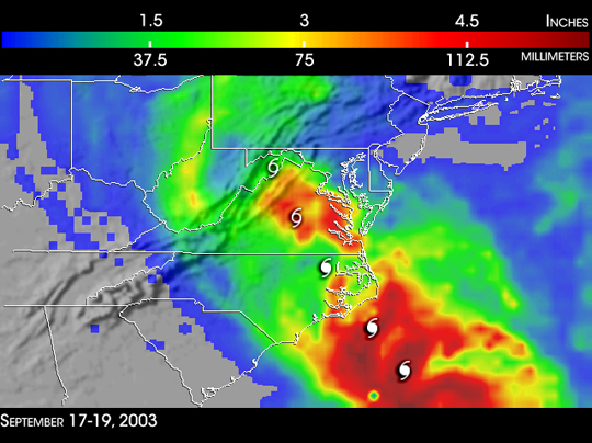Hurricane Isabel - related image preview