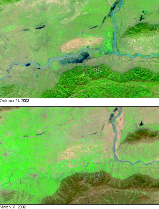 Flooding in Northern China