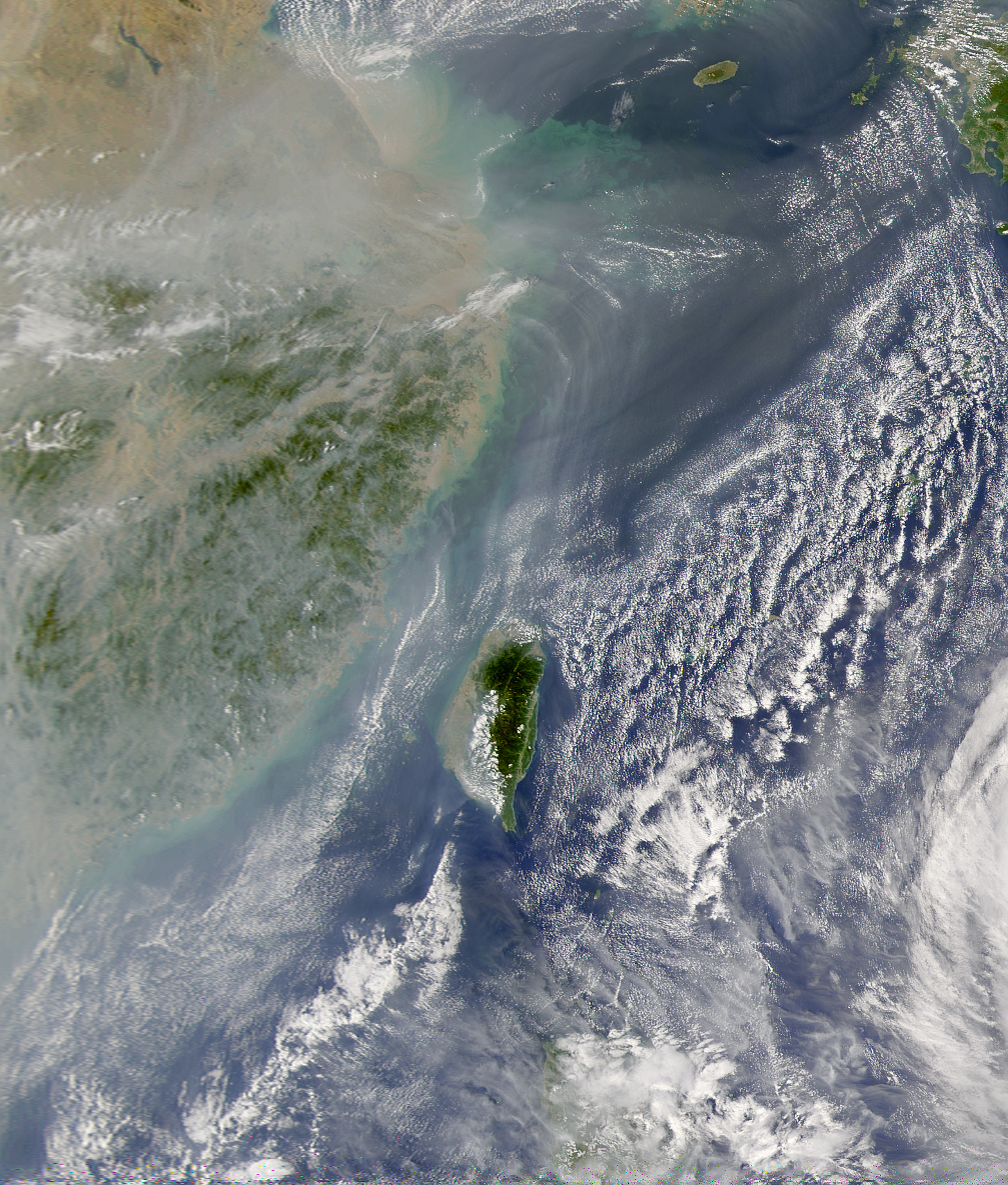 Haze and Pollution over China - related image preview