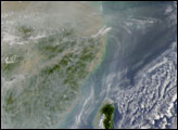Haze and Pollution over China - selected image