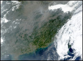 Haze and Pollution over China