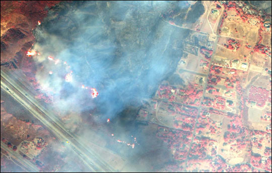 Fires in Southern California