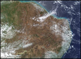 Fires in Northeast Brazil
