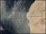 Saharan Dust Plume over the Atlantic