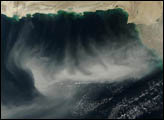 Dust Sweeps across the Arabian Sea