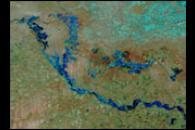 Syr Darya River Overflows